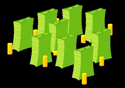 Mole Hoes - Stacks of Money